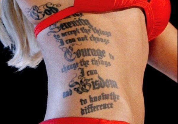tattooed miss america contestant  theresa vail making